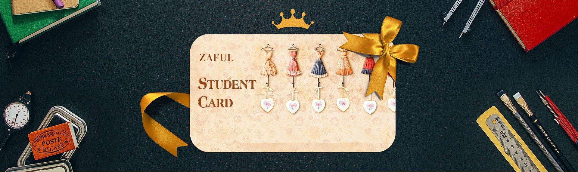 Zaful Student Card