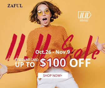 Pre-heating for Zaful global shopping festival. Up to $100 OFF discounted card. Limited amount and limited time. Never miss out! promotion