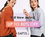 Zaful Fall New Arrival UP TO 80% OFF   Shop Daily Specials>> promotion