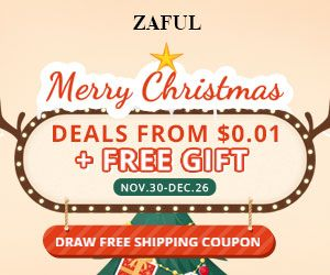 Pre-Christmas Sales on Zaful.com.