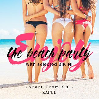 Zaful Zaful Bikini collection promotion