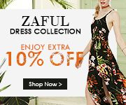 Zaful Dresses collection promotion