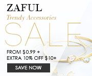 Zaful Trendy Accessories Sale Up to 70% OFF+ Extra 10% OFF $10+ promotion