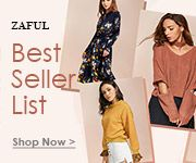 Zaful Up to 80% OFF on Zaful top 30 Selling fall clothes for women. From lovely sweatshirts to beautiful dresses, there must one that suits you most. promotion