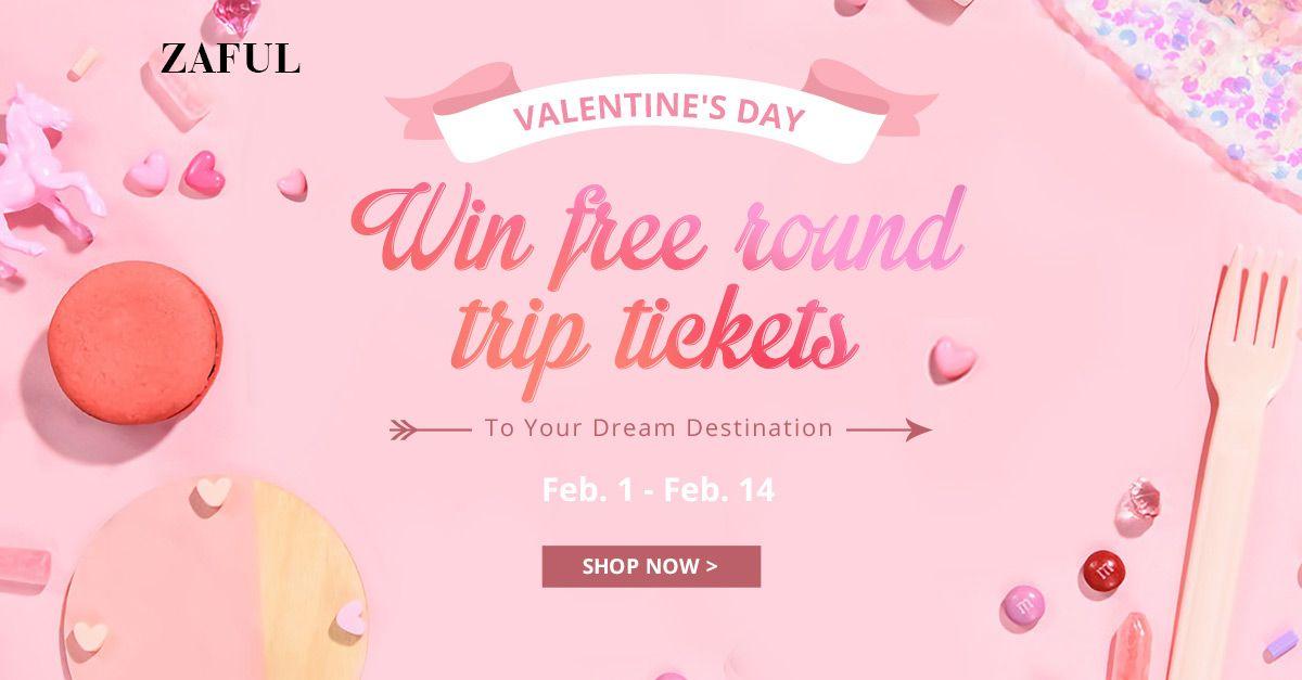 Zaful zaful Sweet Valentine's Day! promotion