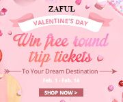 zaful Sweet Valentine's Day! promotion
