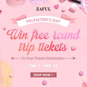 Zaful zaful Sweet Valentine's Day! promotion