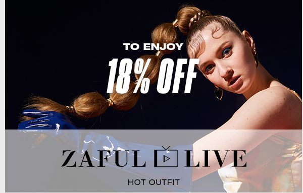 zaful.com - Get 18% Off on Select Products