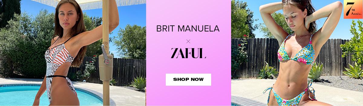 zaful.com - Brit Manuela x Zaful Swimwear starting at just $17.99