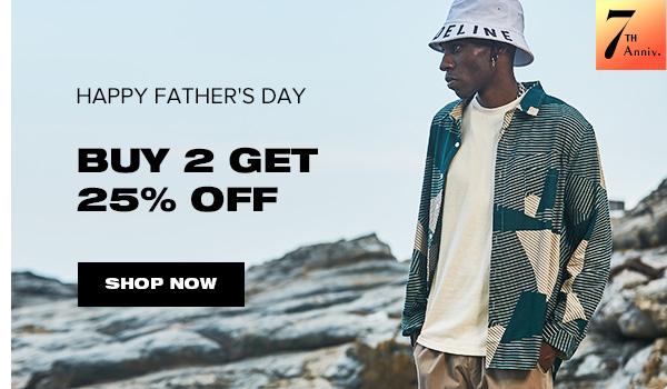 zaful.com - Get Buy 2 Get 25% off on Mens Fashion