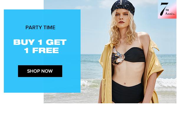 zaful.com - Buy 1 Get 1 for Free on Women's Beachwear