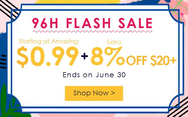 96h flash sale