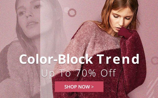 color block trend