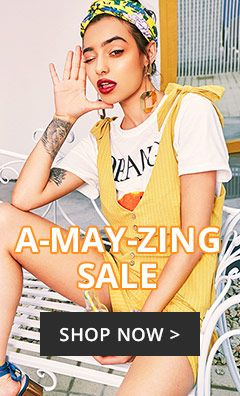 A MAY ZING SALE