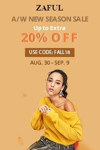 Fall/Winter Sale promotion