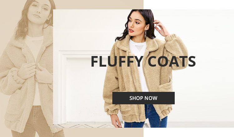 Fluffy Clothing Trend promotion