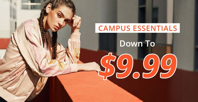 Campus Essentials Down to $9.99 promotion