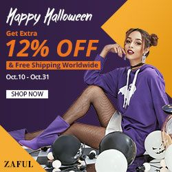 Zaful Halloween Sale Down to $0.99 promotion