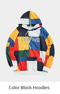 Color Block Hoodies