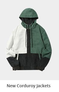 New Corduroy Jackets