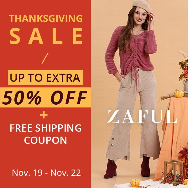 d37811ee299 Thanksgiving Sale   Deals  Free Shipping Coupons   Up to Extra 50% Off