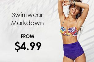 swimwear biggest markdown