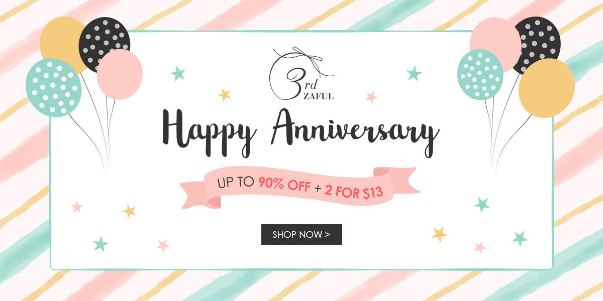 Happy ZAFUL 3rd anniversary