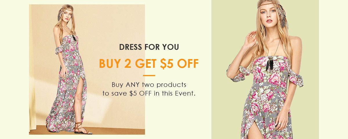 Zaful Dress Promotion