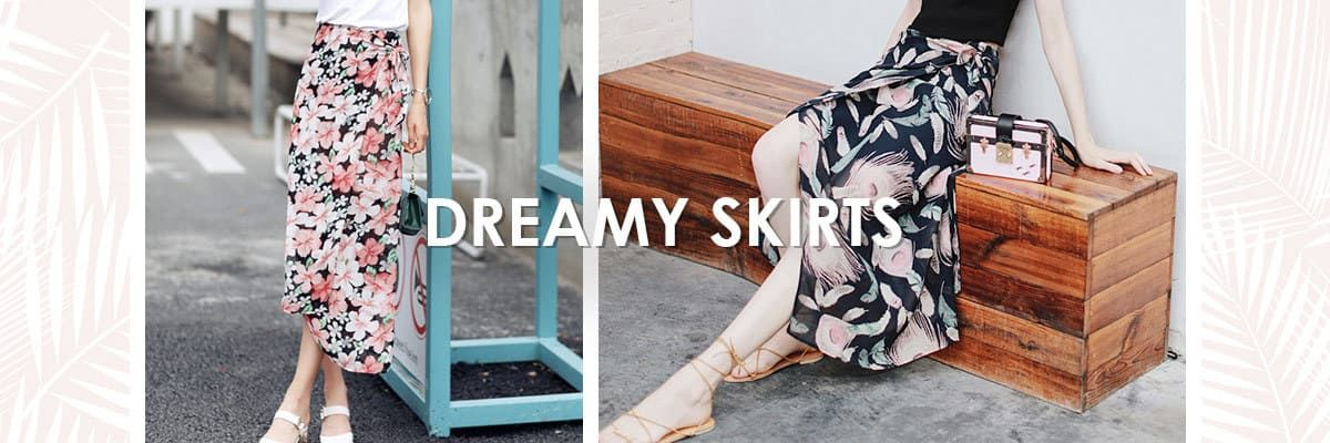 Zaful Dreamy Skirts
