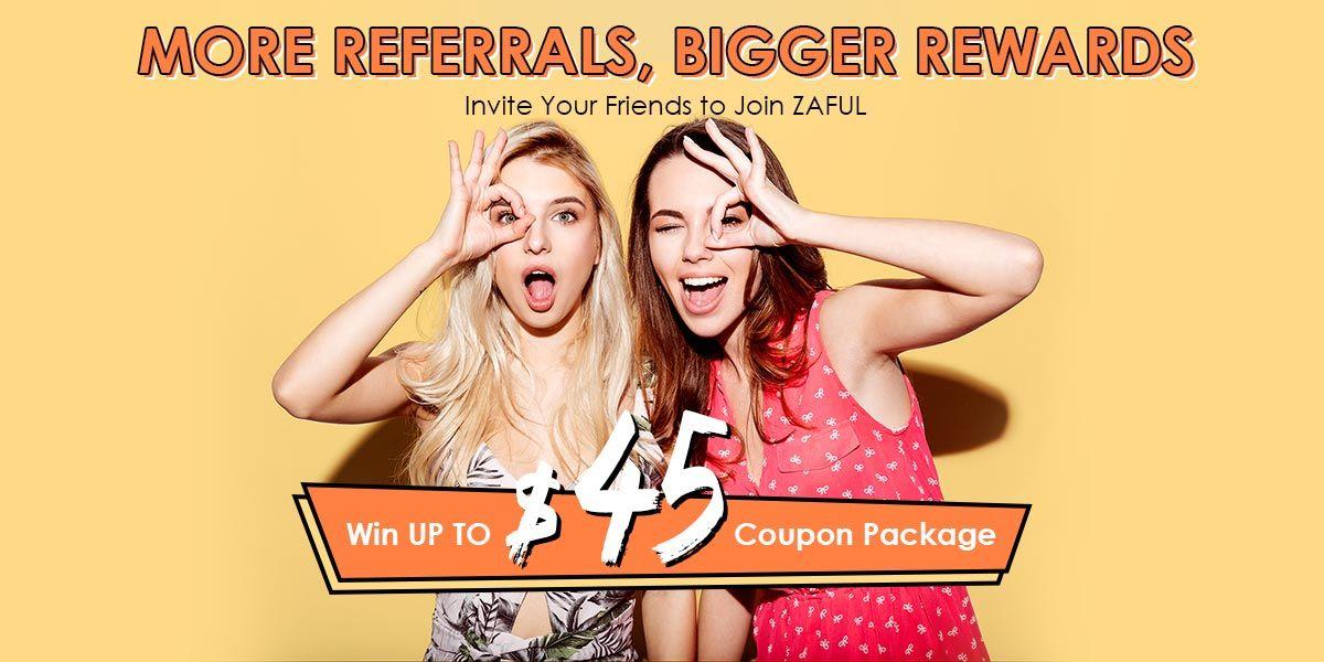 Invite Friends & Win $45