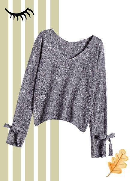 A V-Neck Sweater