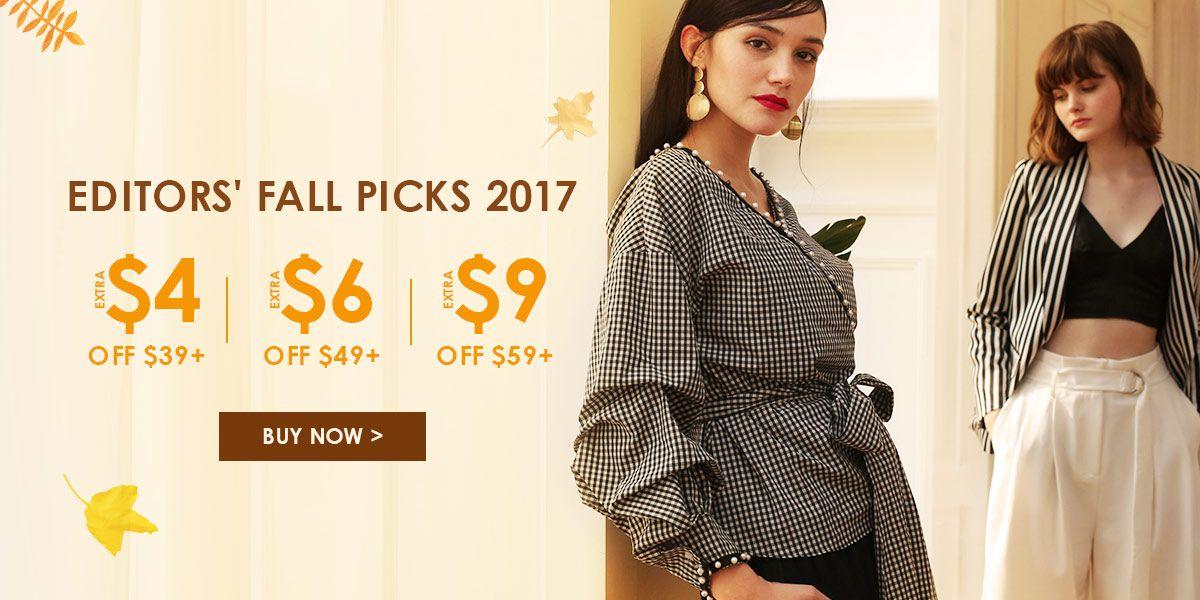 Editors' Fall Picks 2017