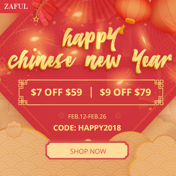 Zaful Chinese New Year Promotion promotion