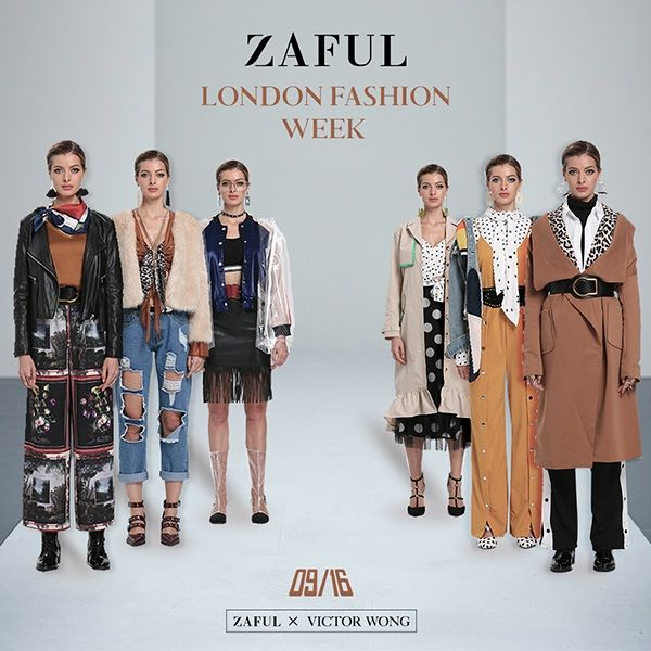 London Fashion Week promotion