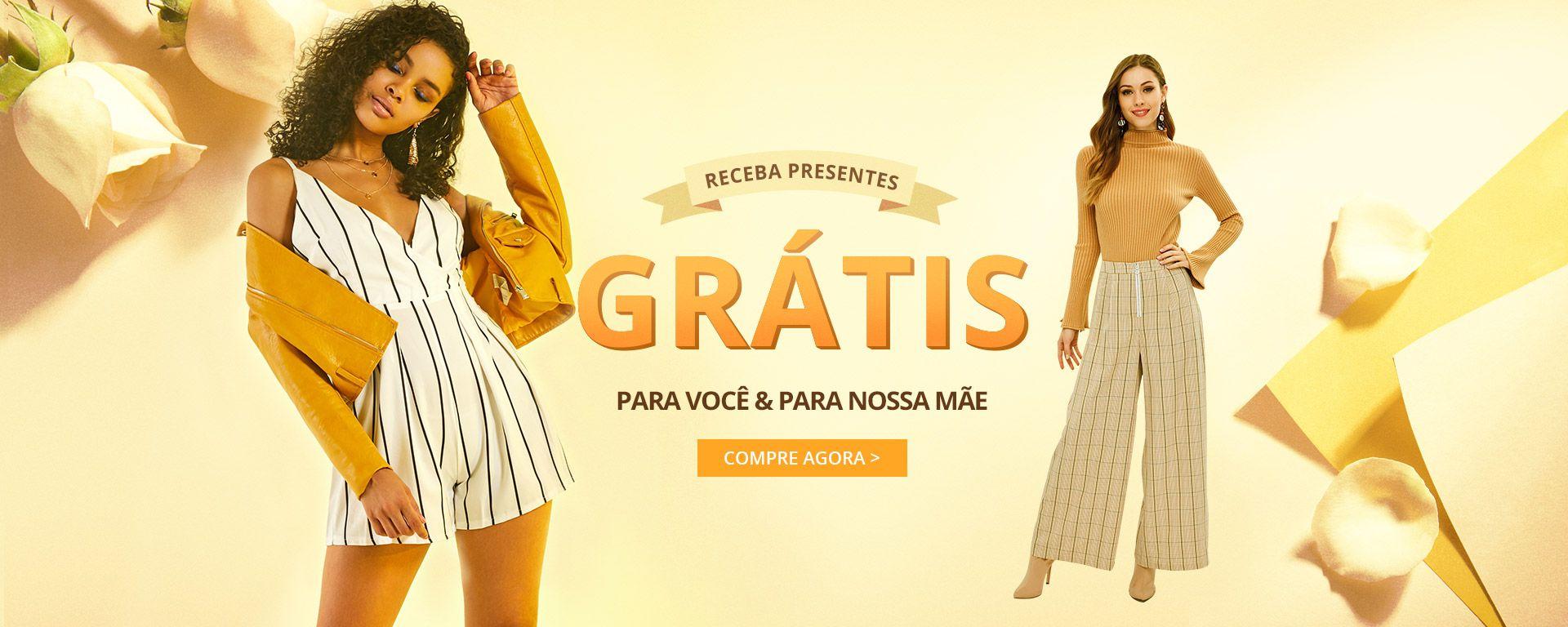 afe70a1c64 ZAFUL Brasil:Tendências Da Moda de Roupas Femininas Compras on-line